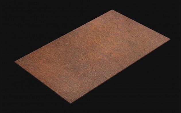 resimdo CO-AB-NS410 Red Iron Oxide selbstklebende Folie Rostoptik Braun Rot für moderne DIY Ideen Wohnideen Kachel