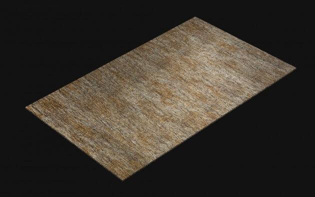 resimdo CO-AB-APZ04 Metal Pine Selbstklebende Folie Gold Silber für Wände, Möbel, Küchen und Böden Kachel