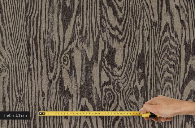resimdo CO-WO-DW709 Dark Larch Klebefolie Dunkelbraun für Fensterbretter und Fensterrahmen Platte klein