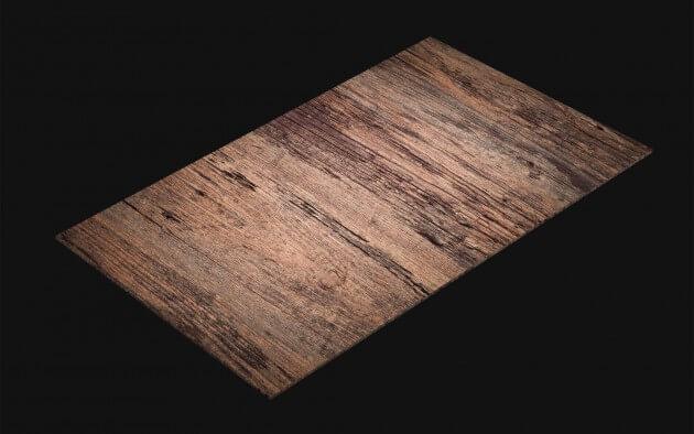 resimdo CO-WO-W912 Rustic Antique Wood Selbstklebende Folie braun für Möbel, Wände, Küchen, Türen Kachel
