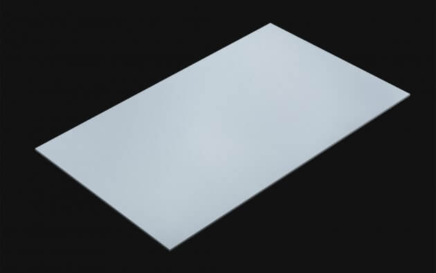 resimdo CO-BA-S153 Baby Grey Folie selbstklebend hellgrau hellblau für Küche, Badezimmer, Möbel Kachel