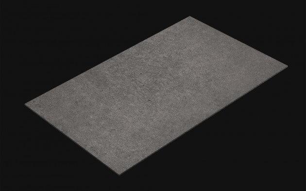 resimdo CO-AB-NS403 Dark Concrete Beton Folie Betonoptik Dunkelgrau Stein selbstklebend für Arbeitsplatten und Ablagen Kachel