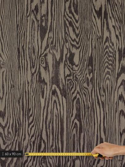 resimdo CO-WO-DW709 Dark Larch Selbstklebende Folie Dunkelbraun für Treppen und Stufen Platte groß
