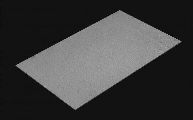 resimdo CO-BA-RM004 Brushed Silver Silberfolie selbstklebend silber für Treppengeländer und Aufzüge kachel