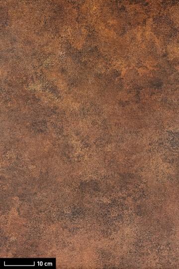 resimdo CO-AB-NS410 Red Iron Oxide Wandfolie Tapete Rostoptik Braun Rot Stein für Schränke in Schlafzimmer Wandgestaltung Platte groß