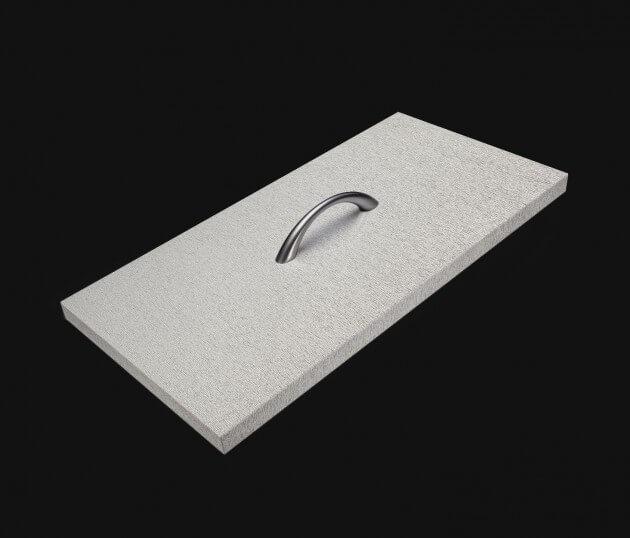 resimdo CO-BA-DM017 Finished Metallic Silver Möbelfolie gebürstetes Aluminium selbstklebend Silber für Möbel und Schränke in Wohnräumen Schublade