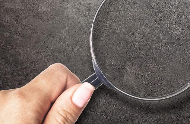 resimdo CO-AB-NS420 Grey Slate Türfolie Dunkelgrau für Türen und Zargen Detail