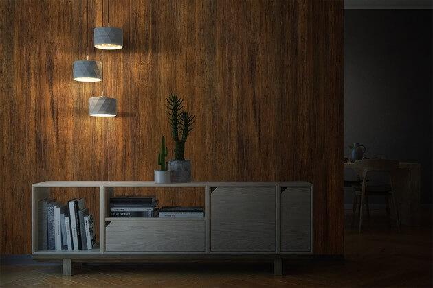 resimdo CO-WO-W274 Bright Antique Wood Dekofolie selbstklebend braun für Türen und Zargen Beleuchtung