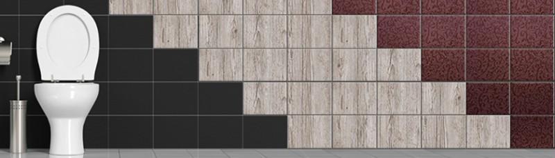Badfliesen Design Holzoptik Einfarbig Struktur ~ Badezimmer Klebefliesen