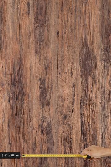 resimdo CO-WO-W912 Rustic Antique Wood Selbstklebende Folie braun für Schuhschrank, Wände, Platte groß