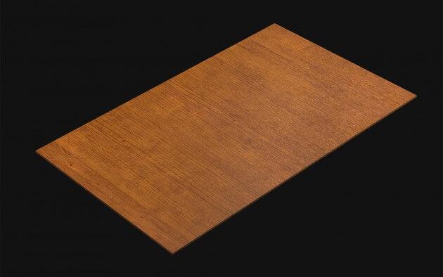 resimdo CO-WO-W508 Red Noce Selbstklebende Folie hellbraun, orange für Küchen, Türen, Möbel, Böden Kachel