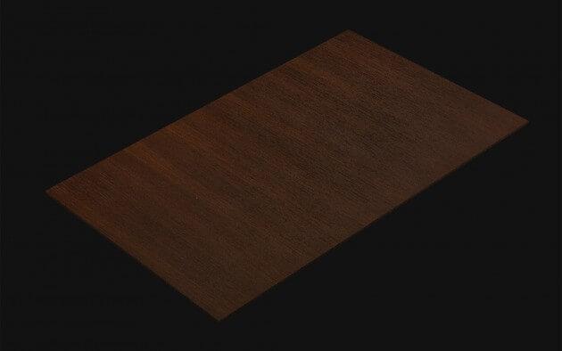 resimdo CO-WO-W207 Dark Walnut Selbstklebende Folie dunkelbraun für Küchen, Möbel Türen und Zargen Kachel