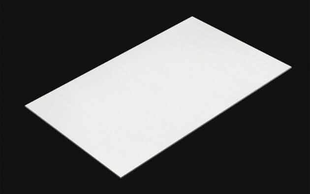 resimdo CO-BA-LS102 Hard White Wood Klebefolien Weiss für Türen, Zargen, treppen, Möbel, Küchen Kachel