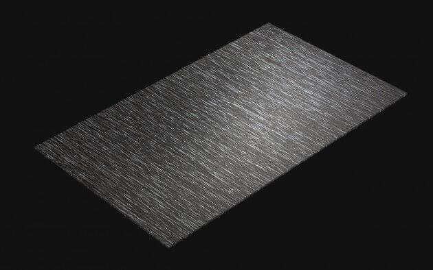 resimdo CO-WO-W556 Silver Castagno Cadduci Selbstklebende Folie dunkelgrau, silber für Möbel, Türen, Küchen Treppen Kachel