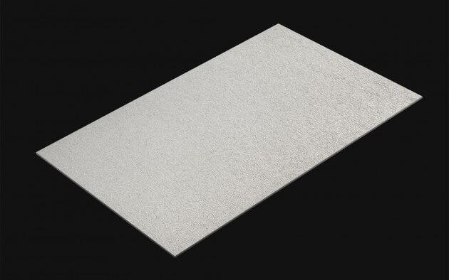 resimdo CO-BA-DM017 Finished Metallic Silver Folie gebürstetes Aluminium selbstklebend Silber für neue Ideen mit Metall-Effekt Kachel