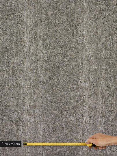 resimdo CO-AB-NS407 Grey Rustic Stone Wandfolie Grau für Wände, Schrankwände und Trennwände Platte groß