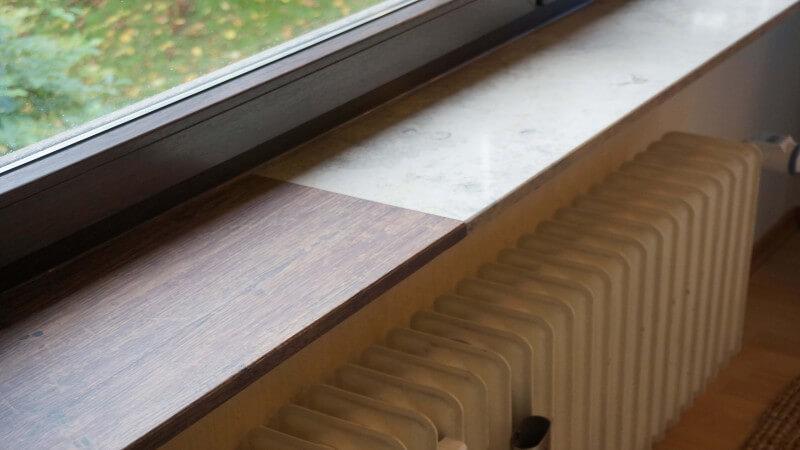 Sehr Fensterbank innen | Renovieren | Alternative | Folie | Modern JO48