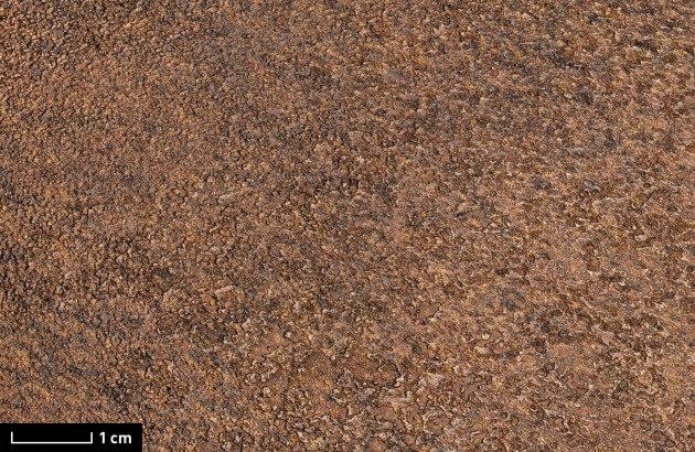 resimdo CO-AB-NS410 Red Iron Oxide Klebefolie Rostoptik Braun Rot Stein für Wände, Treppen und Türen Detail