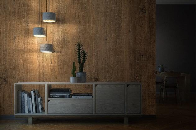 resimdo CO-WO-PZ806 Light Brush Oak Selbstklebende Folie hellbraun für Treppen, Geländer und Stufen Beleuchtung