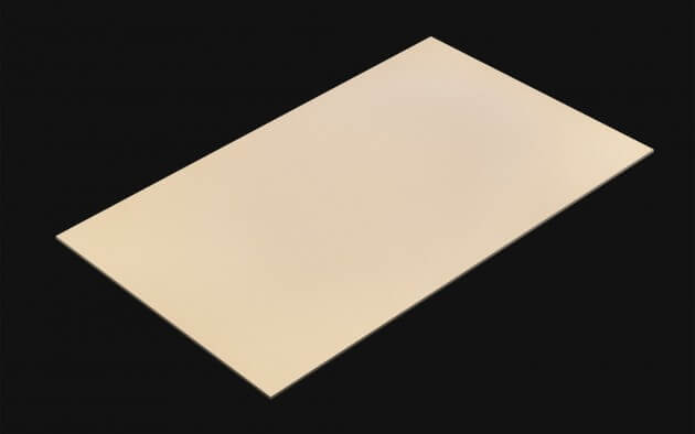 resimdo CO-BA-S127 Vanilla Beige selbstklebende Folie beige, hellbraun für Büroschränke Kachel