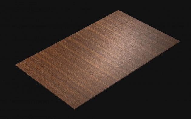 resimdo CO-WO-W260 Dark Brown Walnut Klebefolie dunkelbraun für Treppen, Küchen, Türen Kachel