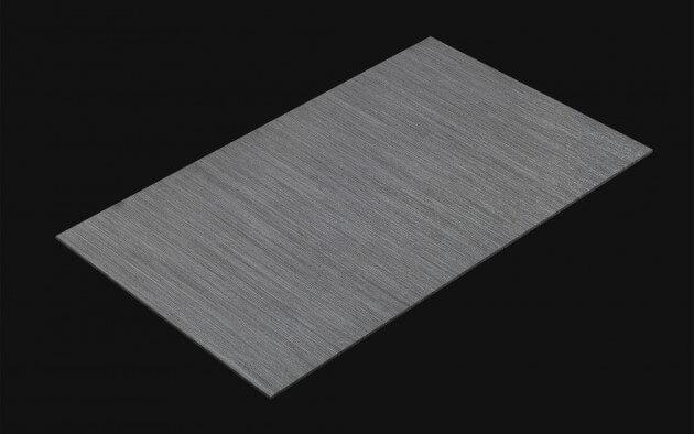 resimdo CO-BA-RM006 Brushed Anthrazit selbstklebende Folie dunkelgrau, silber für Türen, Fensterrahmen, Möbel Kachel