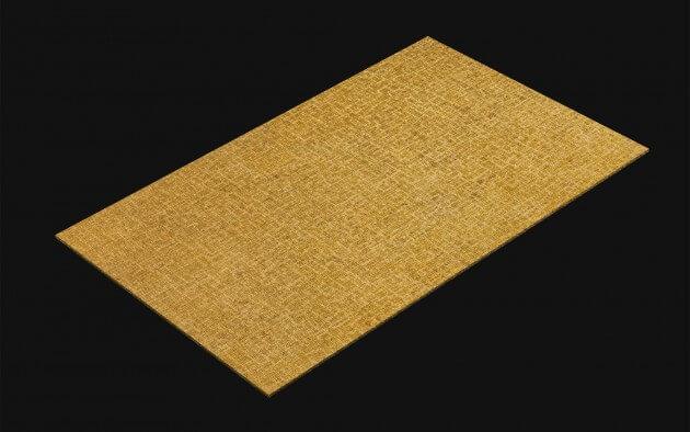 resimdo CO-AB-APZ26 Classic Golden Fabric Klebefolie gold für Möbel, Wände, Türen und Küchen Kachel