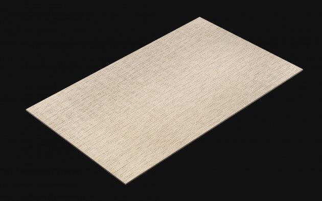 resimdo CO-AB-NSP07 White Textile Fabric Selbstklebefolien Weiss Beige für Möbel, Wände, Küchen Kachel