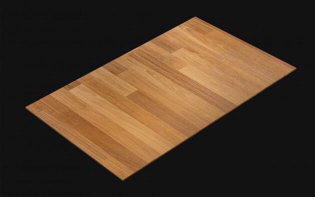 resimdo CO-WO-XP113 Bright Multi Wood Selbstklebende Folien Hellbraun für Böden, Treppen und Türen Kachel