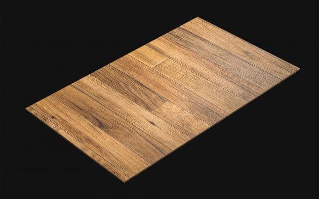 resimdo CO-WO-DW710 Bright Hardwood Pannel Selbstklebende Folie Hellbraun für Böden Kachel