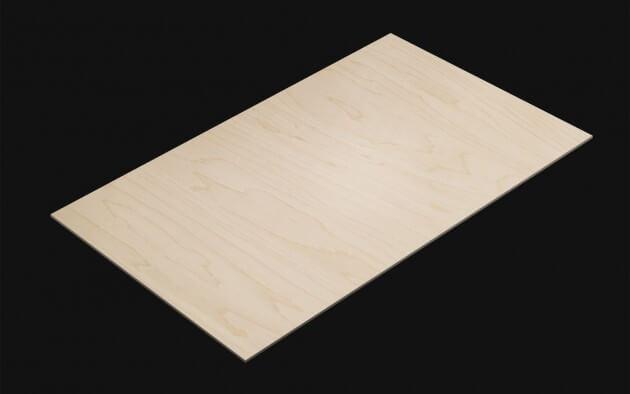 resimdo CO-WO-W199 Textured Maple Selbstklebende Folie beige für Küchen, Möbel, Türen und Treppen Kachel