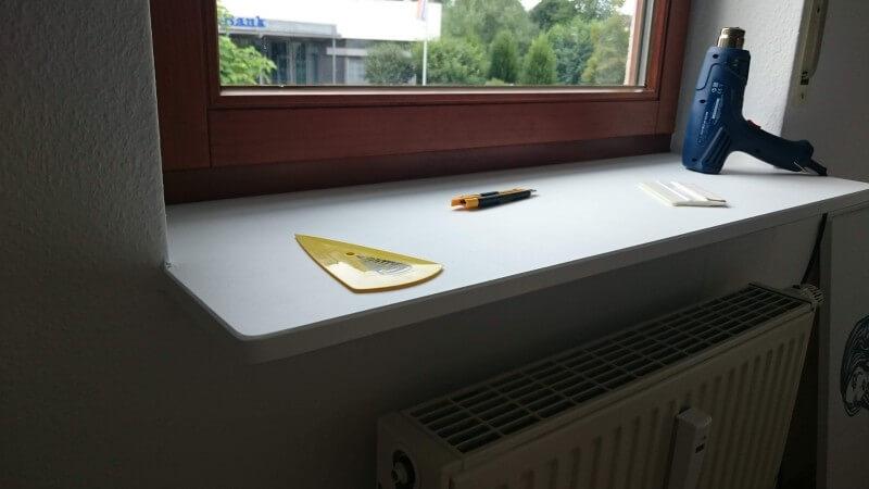 Super Fensterbank innen | Renovieren | Alternative | Folie | Modern JB91