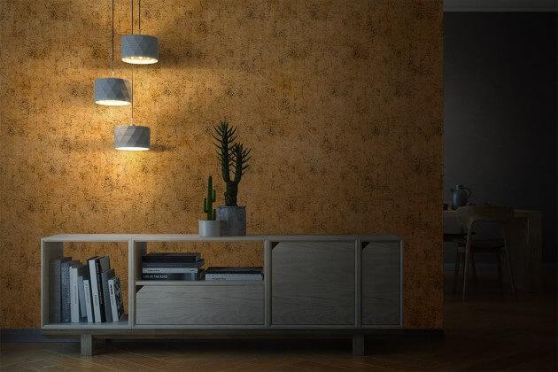 resimdo CO-AB-APZ05 Gold Crack Goldfolie selbstklebend gold für Möbel, Wände, Böden Beleuchtung