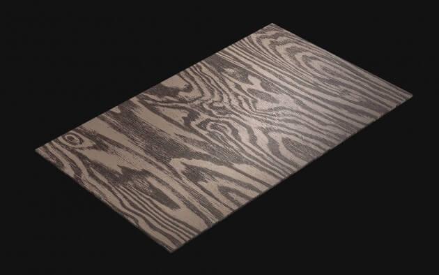 resimdo CO-WO-DW709 Dark Larch Klebefolie Dunkelbraun für Möbel, Türen und Küchen Kachel