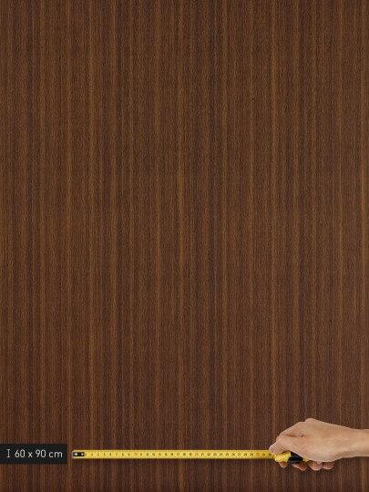 resimdo CO-WO-W260 Dark Brown Walnut Wandfolie dunkelbraun für Trennwände, Wohnzimmerwand, Wand Platte groß