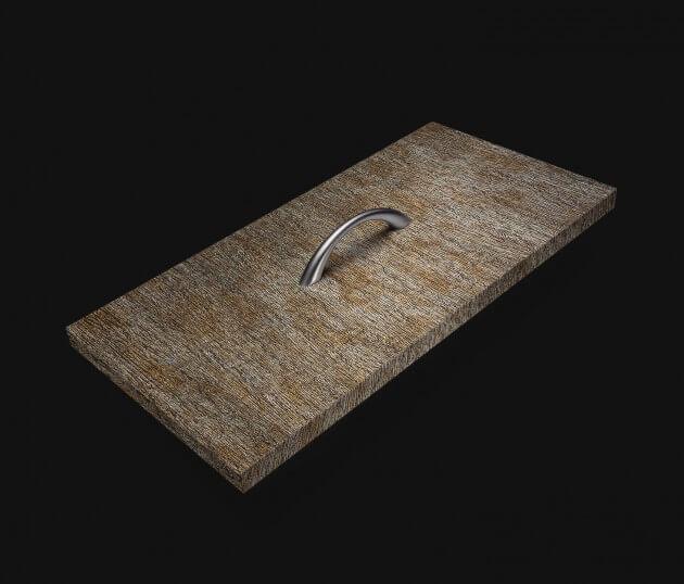 resimdo CO-AB-APZ04 Metal Pine Selbstklebende Möbelfolie Gold Silber für Küchenmöbel, Schränke Schublade