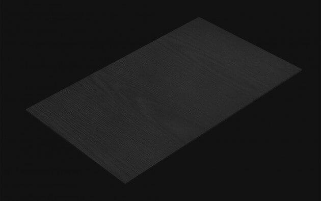 resimdo CO-WO-W705 Dark Grey Noce Klebefolie dunkelgrau für Böden, Treppen, Wände, Kachel