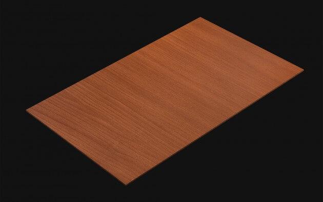 resimdo CO-WO-W171 Red Maple Selbstklebefolie rot für Böden, Küchen, Wände, Türen und Zargen Kachel