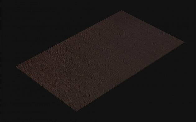 resimdo CO-WO-W731 Black Oak Selbstklebende Folie dunkelbraun für Arbeitsplatten, Küchen und Möbel Kachel