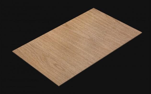 resimdo CO-WO-XP118 Light Brown Walnut Selbstklebefolie Hellbraun für Treppen, Stufen und Böden Kachel