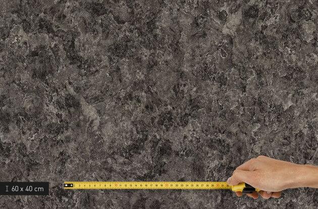 resimdo CO-AB-NS420 Grey Slate Küchenfolie Dunkelgrau für Küchenmöbel und Arbeitsplatten Platte klein