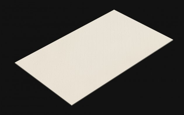 Rhombus Leather White