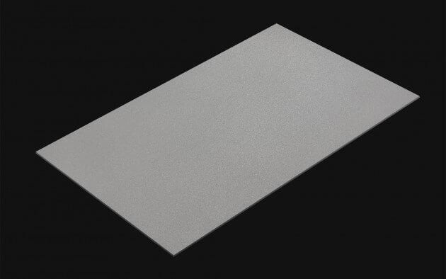 resimdo CO-BA-S143 Middle Grey Klebefolie Grau selbstklebend für Wände und Türen Kachel