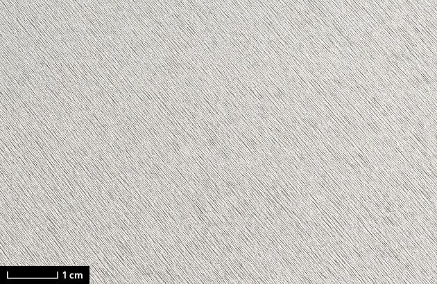 resimdo CO-BA-DM017 Finished Metallic Silver Klebefolie gebürstetes Aluminium selbstklebend Silber für Schränke, Aufzüge, Regale, Detail
