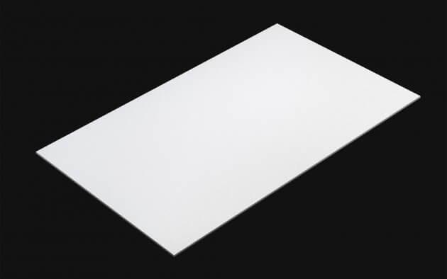 resimdo CO-BA-CP202 Sparkling Coconut Gloss Selbstklebende Folie Weiss für Küchen, Türen, Fensterbretter Möbel, Kachel