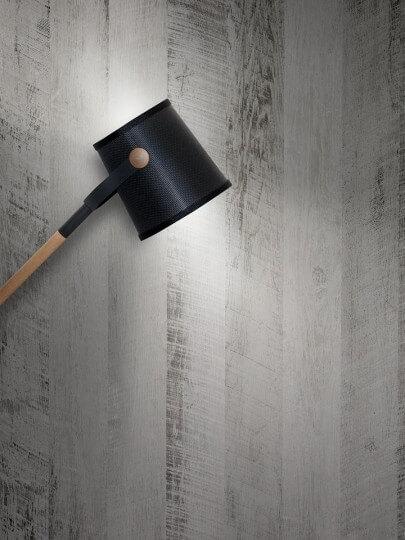 resimdo CO-WO-DW801 White Vintage Wood Klebefolie im Vintage Look für Wände, Trennwände Beleuchtung