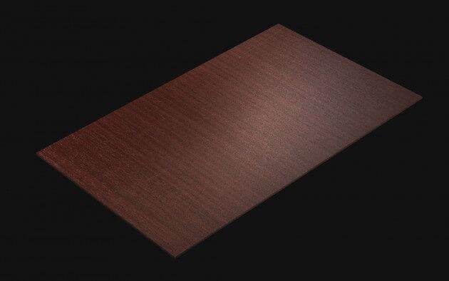 resimdo CO-WO-W689 Mahagoni Touch Selbstklebende Folie rot, braun für Küchen, Möbel Türen, Zargen Treppen Kachel