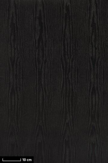 resimdo CO-BA-LS106 Classic Black Wood selbstklebende Folie Schwarz für Möbel und Tische Platte groß