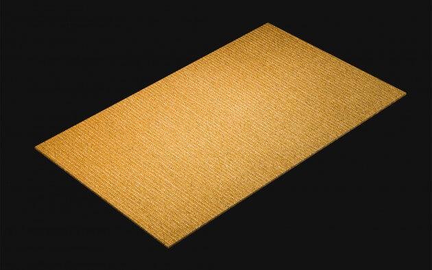 resimdo CO-AB-AP128 Gold Metal Mesh Klebefolie gold für Wände, Möbel, Treppen, Aufzüge Kachel