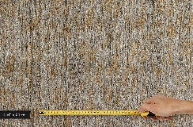 resimdo CO-AB-APZ04 Metal Pine Türfolie Gold Silber für Schiebetüren, Küchentüren, Türen und Zargen Platte klein